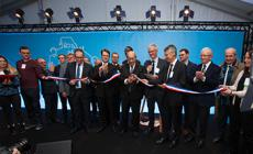 New infant formula and premium milk powder unit inaugurated in the presence of French Minister Jean-Yves Le Drian