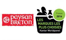 Paysan Breton dans le Top30 des marques les plus achetées en France !