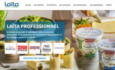 Découvrez le site internet Laïta Professionnel